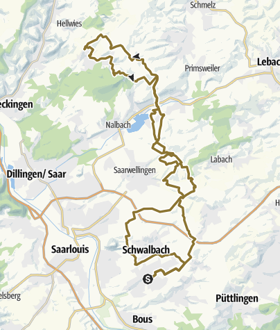 Karte / SiS 2-Tages-Rundritt - Tour 01