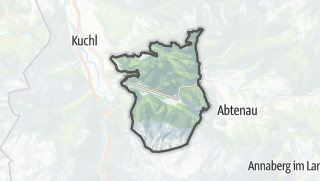 Karte / Scheffau am Tennengebirge