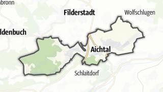 Cartina / Aichtal