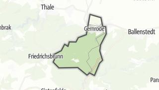 Mapa / Gernrode