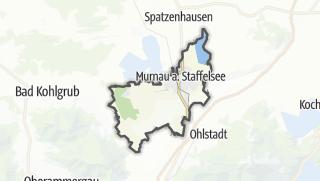 Mapa / Murnau am Staffelsee