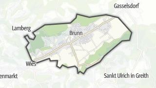 מפה / Pölfing-Brunn