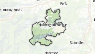 Map / Kirchberg am Wechsel