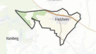 Cartina / Friolzheim