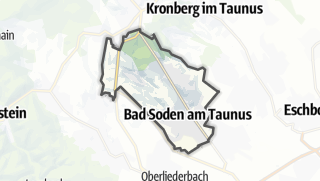 Mapa / Bad Soden am Taunus