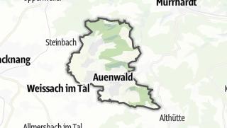 מפה / Auenwald