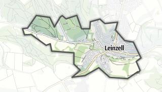 Mapa / Leinzell