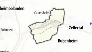 Cartina / Albisheim (Pfrimm)