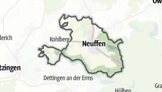 Cartina / Neuffen