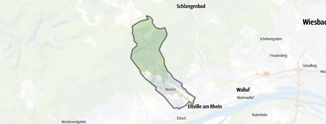 Mappa / Trekking a Kiedrich