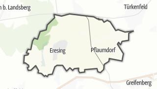 Mapa / Eresing