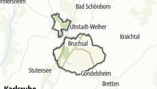 地图 / Bruchsal