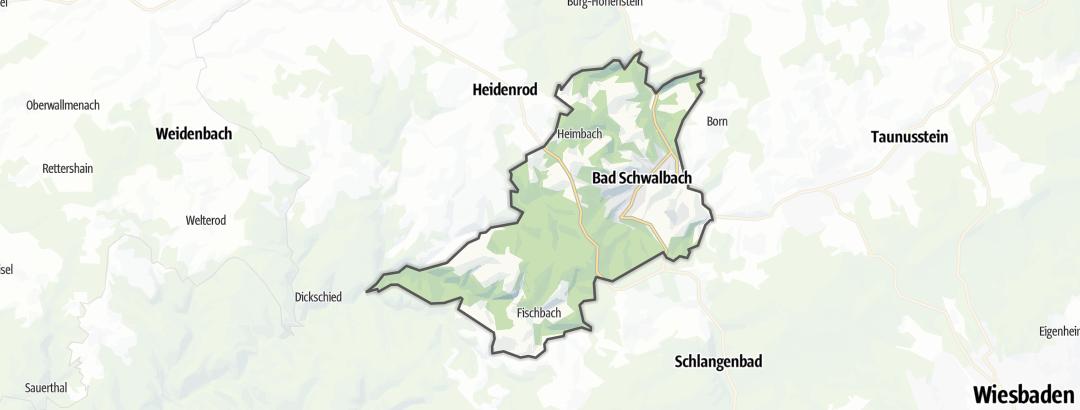 Mappa / Trekking a Bad Schwalbach
