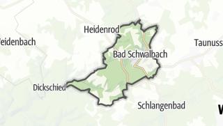 Cartina / Bad Schwalbach