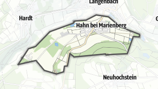 Mapa / Hahn bei Marienberg