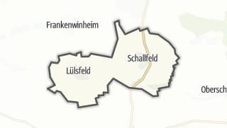 Cartina / Lülsfeld