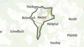 Karte / Niedert