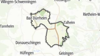Karte / Bad Dürrheim