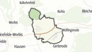 Map / Breitenworbis