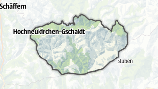 地图 / Hochneukirchen-Gschaidt