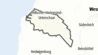 Mapa / Hellschen-Heringsand-Unterschaar