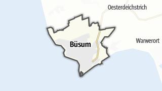 Mapa / Büsum
