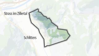 Mapa / Bruck am Ziller