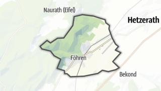 Karte / Föhren