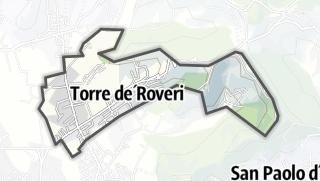 Hartă / Torre de' Roveri