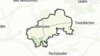 地图 / Obernzenn