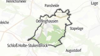 Mapa / Oerlinghausen