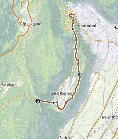 """Cartina / 810 """"Giuel Trail"""""""