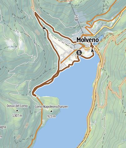 """Map / 799 """"Tour Ciclamino"""""""