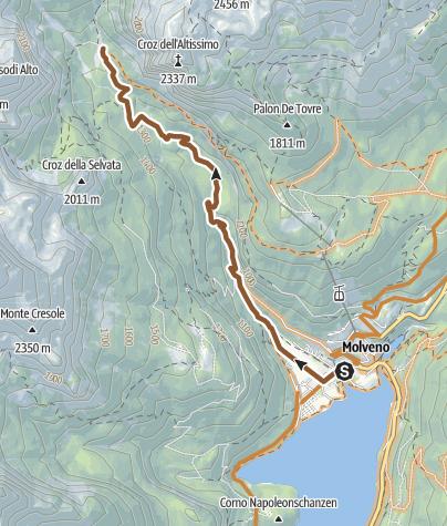 "Map / 800 ""Tour Croz Altissimo"""