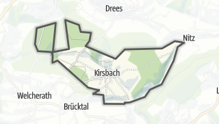 Karte / Kirsbach