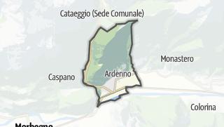 מפה / Ardenno