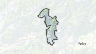 Karte / Castello Tesino