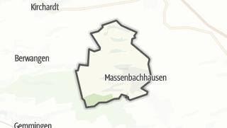地图 / Massenbachhausen