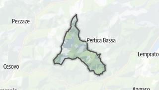 מפה / Pertica Alta
