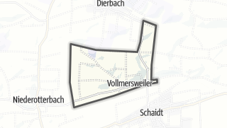 Karte / Vollmersweiler