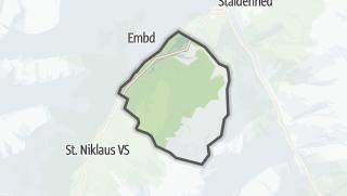 מפה / Grächen