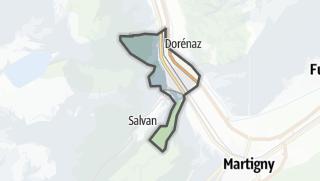 Térkép / Vernayaz