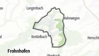 מפה / Herschweiler-Pettersheim
