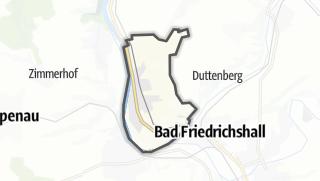 地图 / Offenau