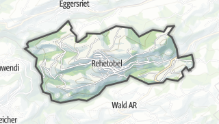 Mapa / Rehetobel