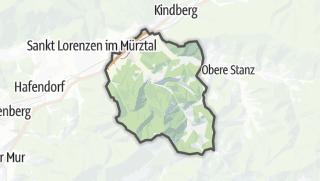 Cartina / Allerheiligen im Mürztal