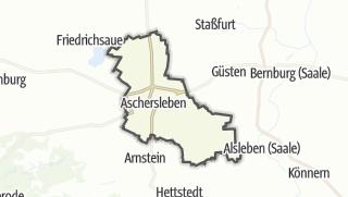 Cartina / Aschersleben