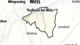 מפה / Thalheim bei Wels