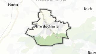 מפה / Allmersbach