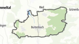 Cartina / Burtenbach